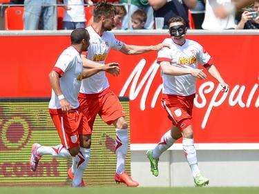Jahn Regensburg feiert den Wiederaufstieg