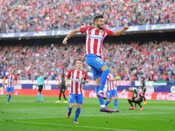 Ferreira-Carrasco (vorn) erzielte drei Treffer für sein Team