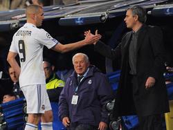 Karim Benzema (l.) soll Mourinho-Transferziel Nummer eins sein