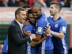 Markus Weinzierl will auch beim BVB mit seinen Schalkern jubeln