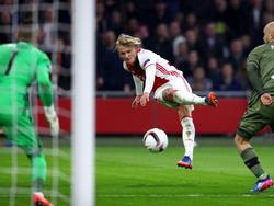 Ein Kandidat für Bayern München: Ajax-Knipser Kasper Dolberg