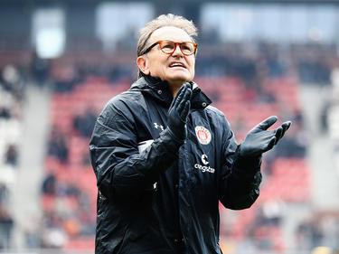 Räumt den Trainerstuhl am Millerntor: Ewald Lienen