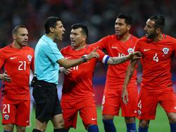 Chile jugará la semifinal ante Portugal. (Foto: Getty)