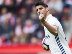 Álvaro Morata verabschiedet sich aus Madrid