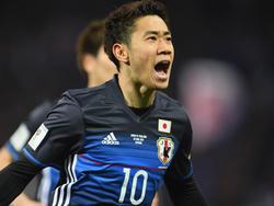 Shinji Kagawa fährt 2018 zur WM nach Russland