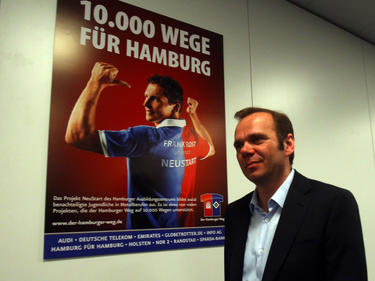 Bernd Hoffmann möchte den HSV aus der Krise führen
