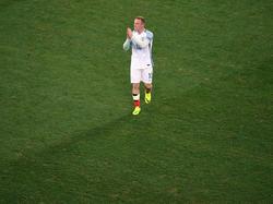 Noch ist Wayne Rooney Kapitän der Three Lions