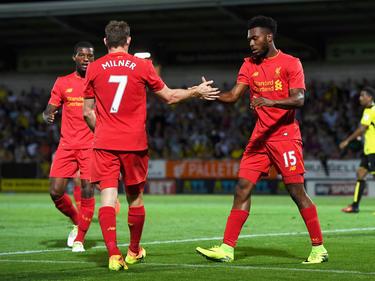 Der FC Liverpool steht im Ligapokal in der nächsten Runde
