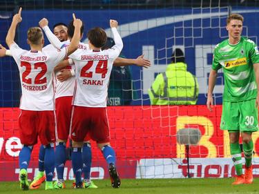 El Hamburgo alcanzó además a puntos a Wolfsburgo (14º) y Werder Bremen (15º). (Foto: Getty)