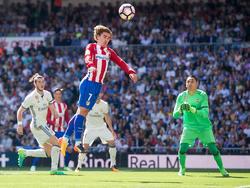 Antoine Griezmann bremst mit seinem Treffer zum 1:1 die Titelträume Real Madrids