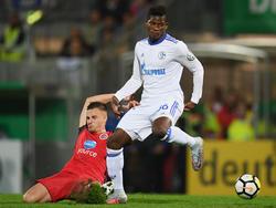 Breel Embolo kam beim FC Schalke 04 zuletzt nicht oft zum Zuge