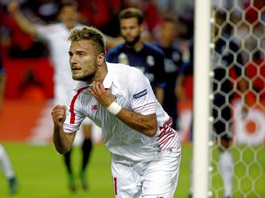 Ciro Immobile hizo gol al Real Madrid con el Sevilla. (Foto: Getty)