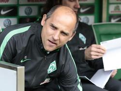 Viktor Skripnik könnte schon bald wieder auf der Trainerbank Platz nehmen