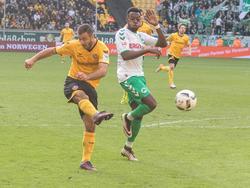 Akaki Gogia war erneut der Matchwinner für Dynamo Dresden