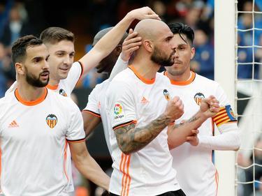 Zaza se estrenó como goleador con el Valencia en su cuarto partido. (Foto: Imago)