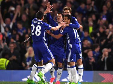 Chelsea bejubelt den Heimsieg gegen Manchester City