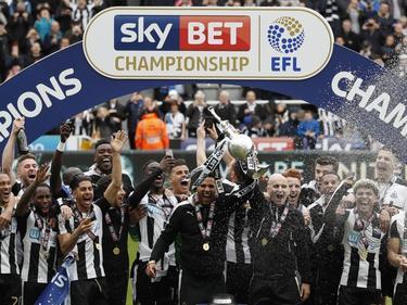 Newcastle United viert het kampioenschap 2016/2017 Pro Shots / Action Images