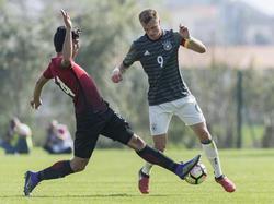 Jann-Fiete Arp erzielte bei der EM bereits sieben Treffer