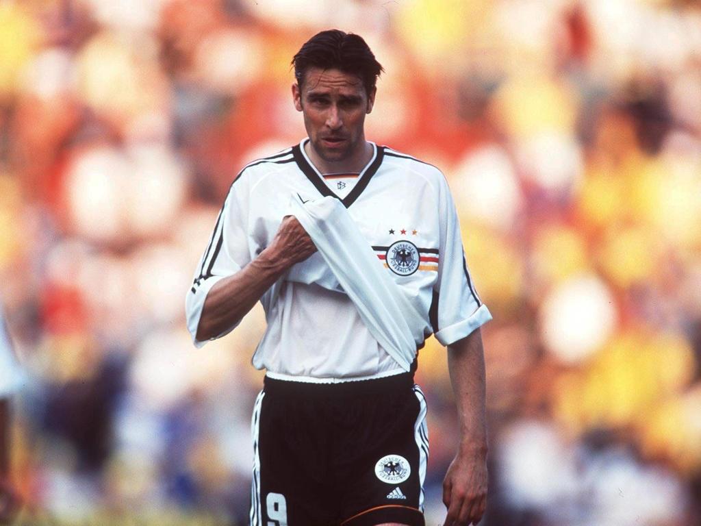 ANGRIFF: Michael Preetz (Hertha BSC)