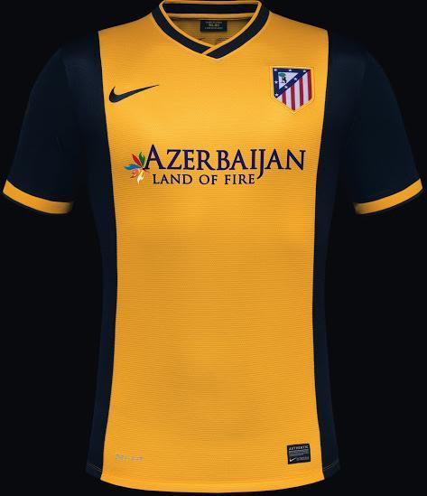 Atlético Madrid (Auswärtstrikot)
