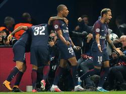 Jubel der Superstars: Paris Saint-Germain ließ den Bayern am Mittwoch keine Chance