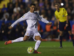 Cristiano Ronaldo gelang das Führungstor gegen Levante