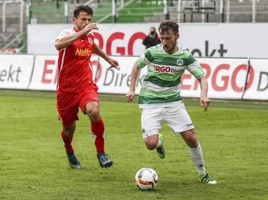 Tom Trybull (rechts) verlässt Greuther Fürth in Richtung Den Haag