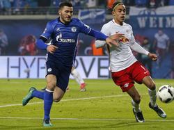 Die Tage von Sead Kolašinac (l.) im Schalke-Trikot scheinen gezählt