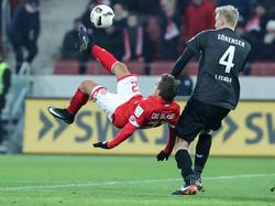 Zum Abschluss der Hinrunde trennen sich Mainz 05 und der 1. FC Köln 0:0-Unentschieden