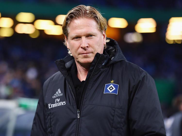 Markus Gisdol hat seinen Vertrag beim HSV bis 2019 verlängert