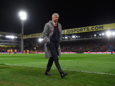 Arséne Wenger druipt af na het verlies tegen Crystal Palace (3-0)