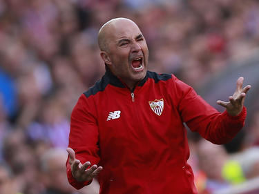 Sampaoli en el Vicente Calderón (Foto: Getty)