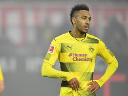 Borussia Dortmunds Pierre-Emerick Aubameyang bot sich angeblich em FC Barcelona an