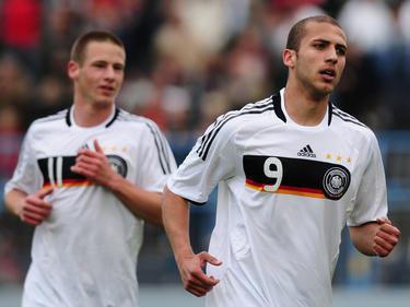 Dani Schahin (r.) spielte bis 2010 für die deutsche U20