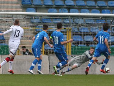 Max Christiansen brachte die deutsche U19 mit 1:0 in Führung