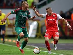 Lok feierte einen 2:0-Heimsieg gegen Skenderbeu