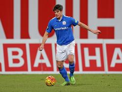 Marcus Hoffmann bleibt Rostock bis 2017 erhalten
