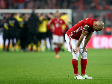 Die Bayern mussten zuschauen, wie der BVB ins Finale einzog