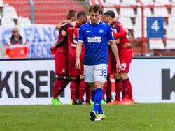 Matthias Bader und der KSC sind abgestiegen