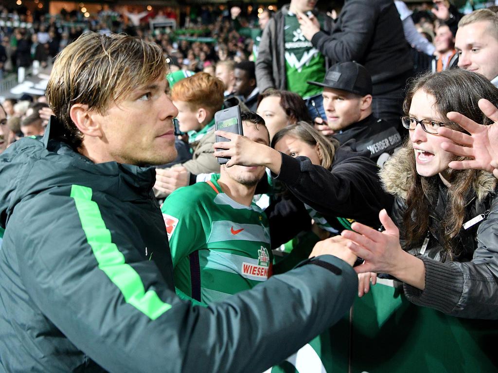Fußball: Fritz soll Ehrenspielführer bei Werder Bremen werden