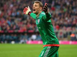 Manuel Neuer ärgerte sich über die Schalker Fans