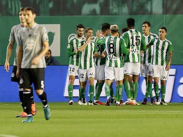 El Betis jugó contra el Depor ya en la Copa del Rey. (Foto: Getty)