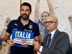 Gianluigi Buffon steht vor dem 1000. Spiel seiner Karriere