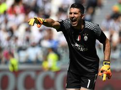 Gianluigi Buffon hat sich mit Juventus zum sechsten Mal in Serie den Scudetto gesichert