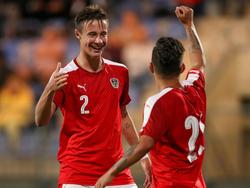 Österreich schlägt Gibraltar mit einer starken Leistung 3:0