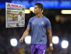 Flieht Cristiano Ronaldo vor dem öffentlichen Druck?
