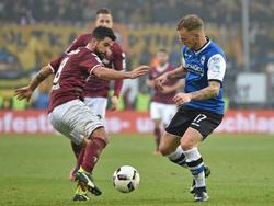 Bielefeld hat Nils Teixeira (l.) aus Dresden verpflichtet