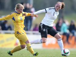 Juniorennationalspielerin Jenny Gaugigl (r.) wechselt zum SC Sand