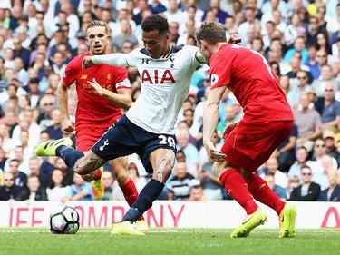 Dele Alli quiere frenar las ambiciones del Liverpool. (Foto: Getty)