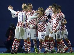 Die kroatische Nationalmannschaft besiegte Nordirland deutlich
